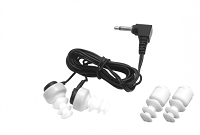 dual mini earbud with tips